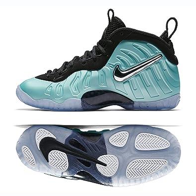 3cb4ba14f15 Nike Little Posite PRO (GS) 644792-403 Racer Blue Crimson Kids Shoes
