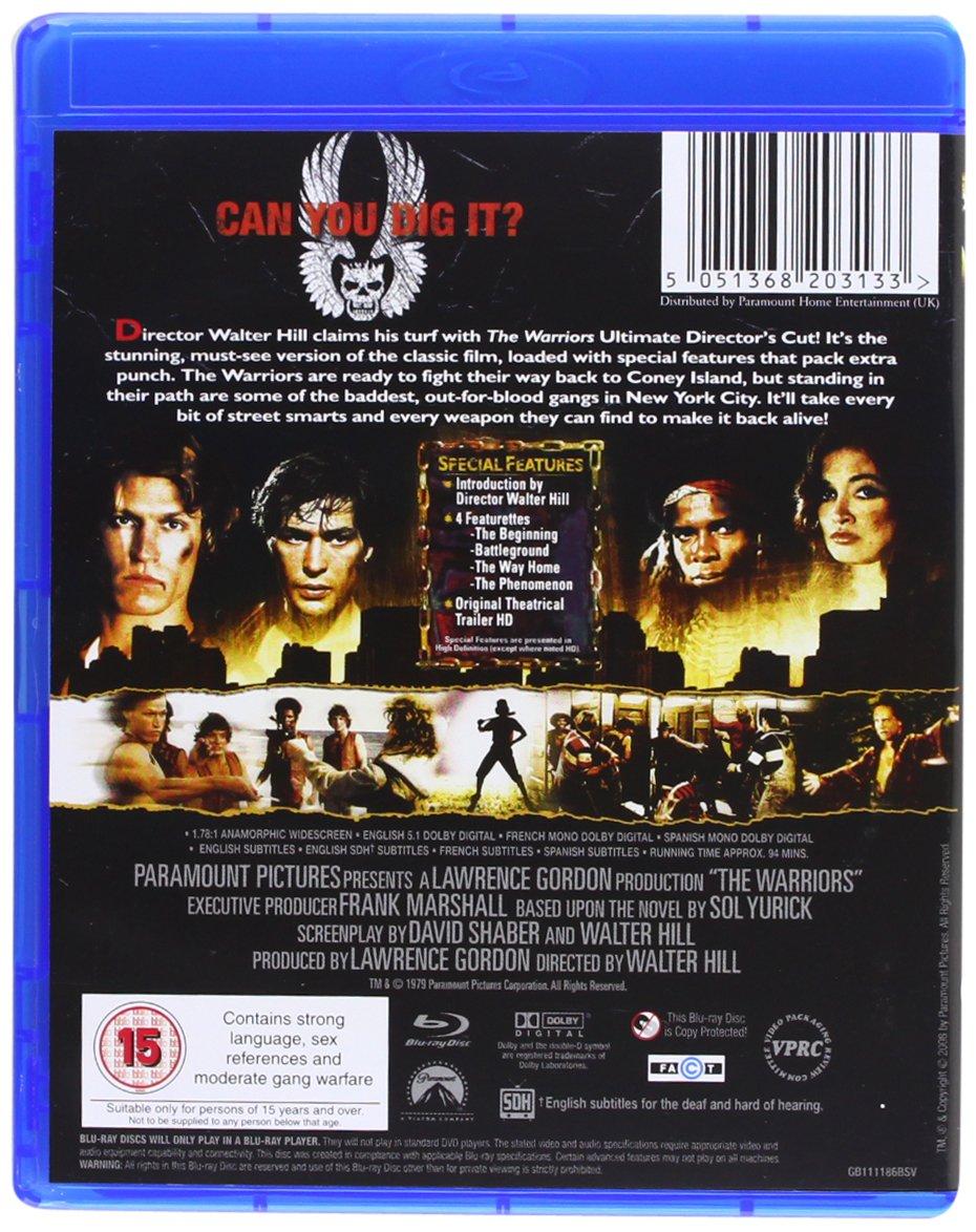 The Warriors Edizione: Regno Unito Reino Unido Blu-ray: Amazon.es ...