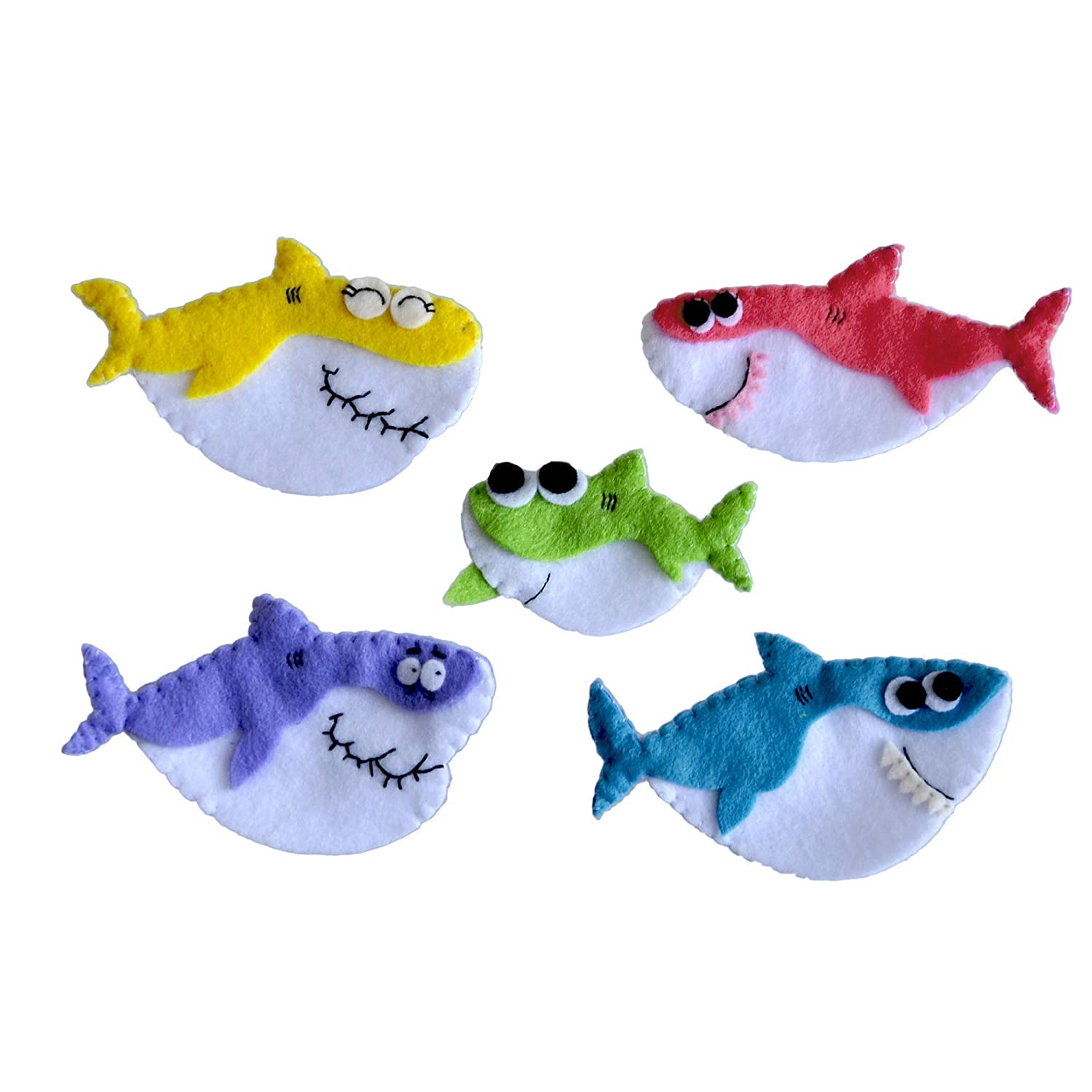 Baby Shark Finger Puppets Set 5 pcs