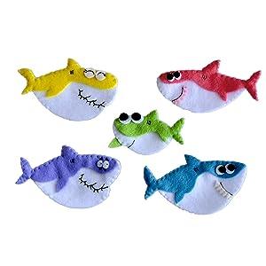 Baby Shark Finger Puppets Set 5 pcs