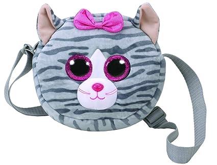 aee489e68a4 Amazon.com  Ty Gear Purse - KIKI the Grey Cat (8 inch)  Toys   Games