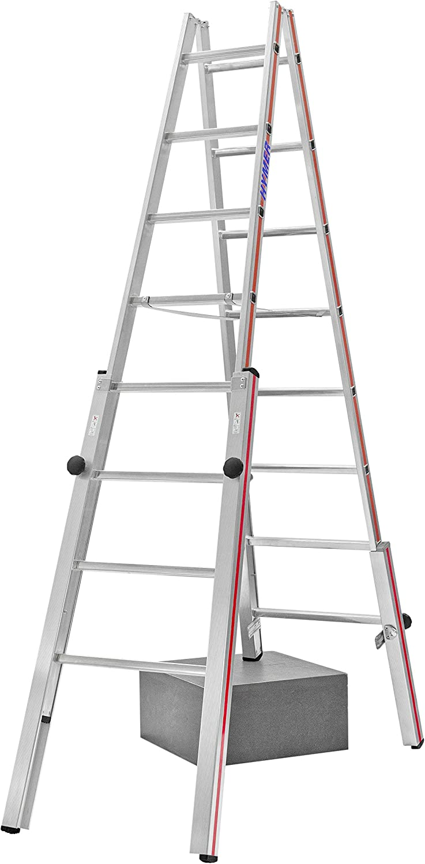 HYMER 412316 - Escalera de tijera: Amazon.es: Bricolaje y herramientas