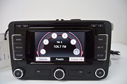 volkswagen oem rns 315 touch screen navigation