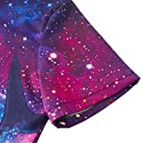 b18091437cd0 Mens Male Galaxy Nebula Space 3D Colouful Whale Shark Captain Cat Novelty Shorts  Cargo Pants Jumpsuits Rompers Overalls L