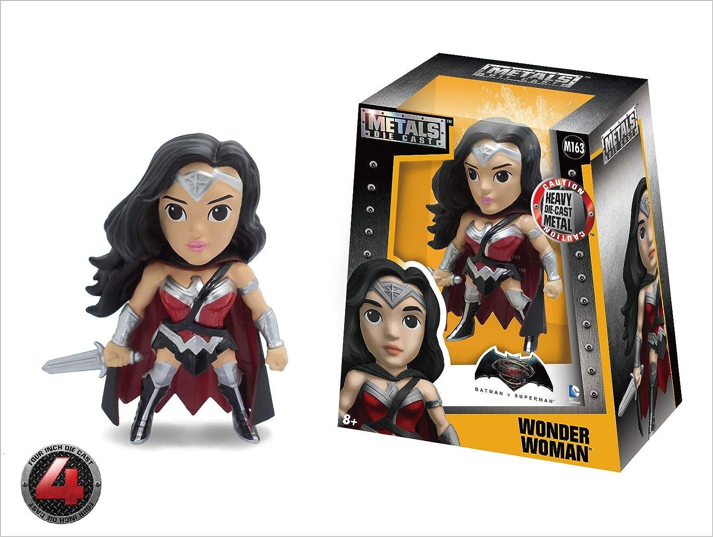 US 97718 Wonder Woman Toy Figure Jada Toys M163 Jada Toys Metals Batman V Superman 4 Classic Figure