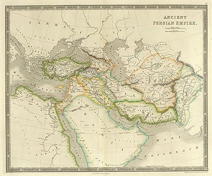 Amazon.com: Map Poster - Ancient Persian Empire. - 24\