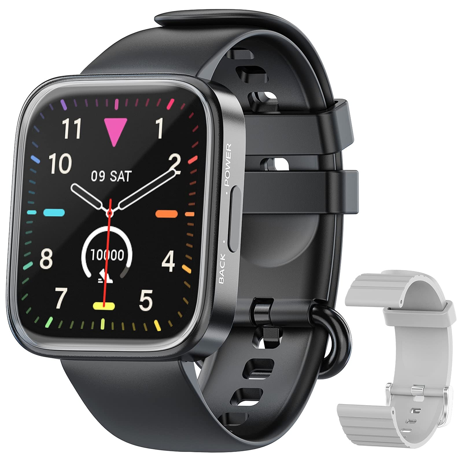 Smart Watches for Men Women IP68 Waterproof Fitness Tracker with Heart Rate