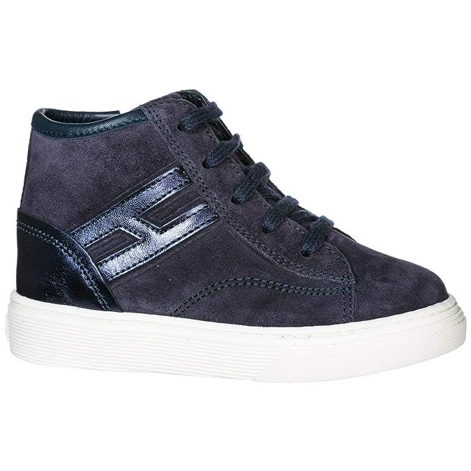 81ebec7c742d9 .Hogan H365 Basket Montante Enfant blu 23 EU  Amazon.fr  Chaussures et Sacs