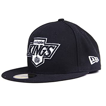 cd0d8a9e991 New Era Team LA Kings Top Glow in The Dark Men s Fitted Cap Black ...