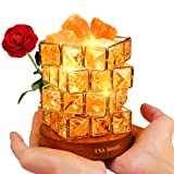 Amazon Price History for:OXA Gorgeous Himalayan Salt Lamp,Natural Hymalain Pink Salt Rock in Crystal Basket(3.85pounds,6.0'') with Dimmer Switch,2xBulbs,UL-Listed Cord &Wood Base