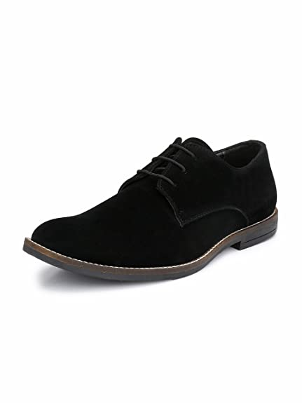 44f81f30a HiREL'S Men's Suede Derby Casual Shoes