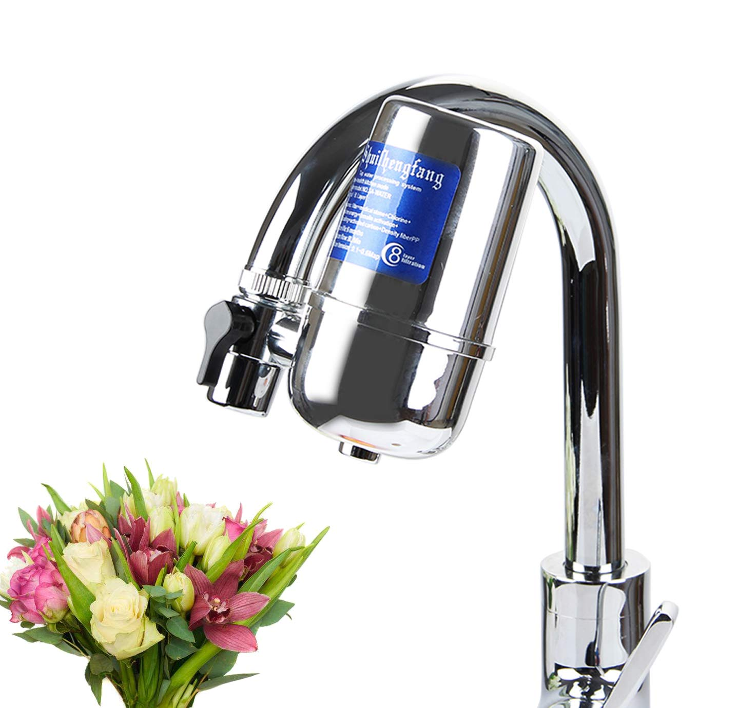 Faucet Filter, Drinking Water Filter, Water Purifier for Kitchen,(Faucet Water Filter)