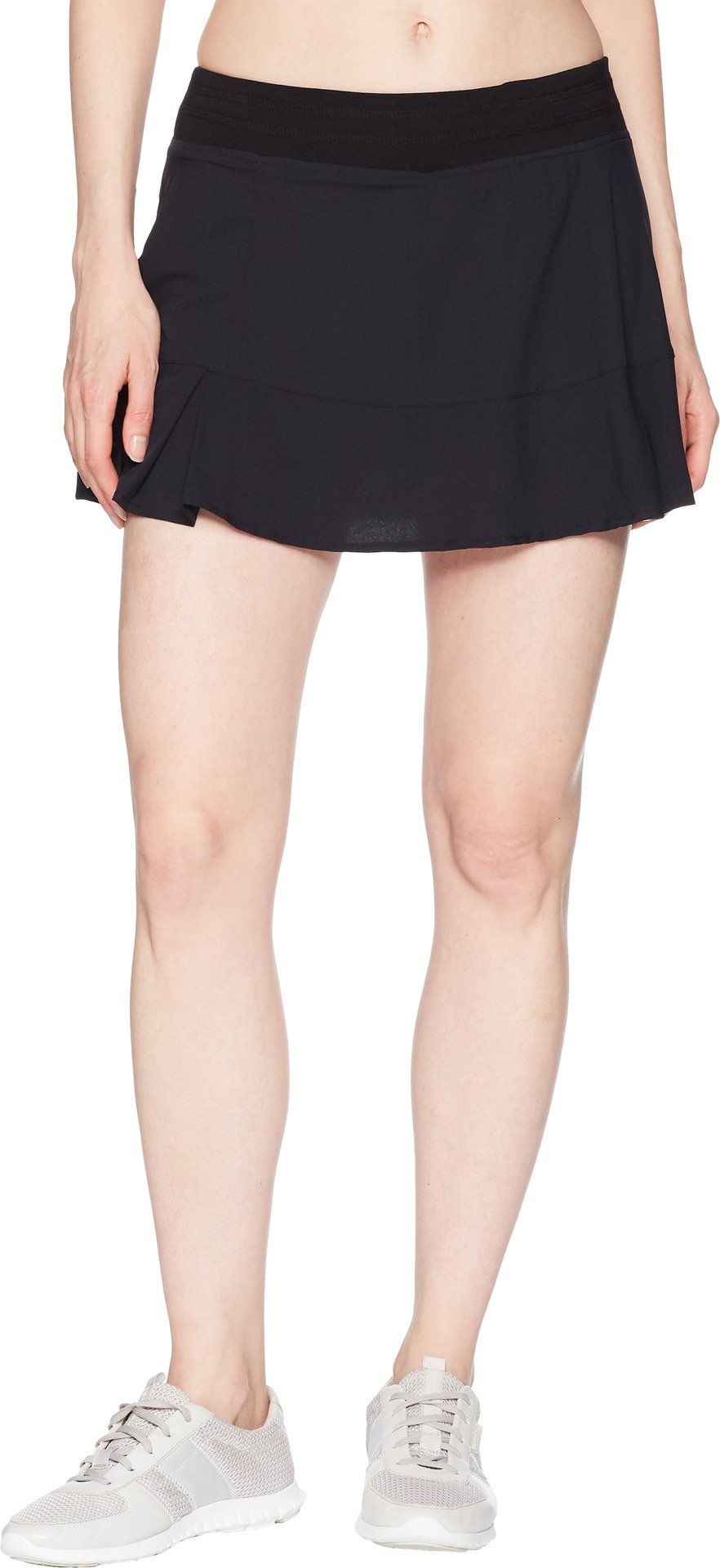 tasc Performance Rhythm Skirt, Black, Large by tasc Performance