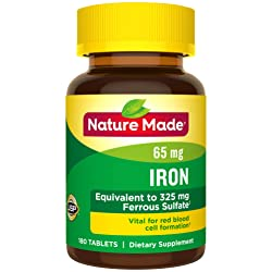 Top 7 Best Iron Supplement for Pregnancy Reviews in 2020 1