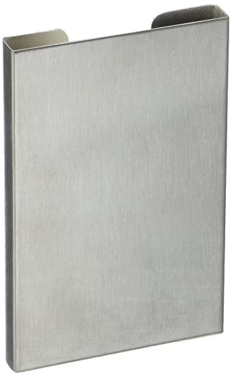 Amazon Partstock Business Card Holder Stainless Steel