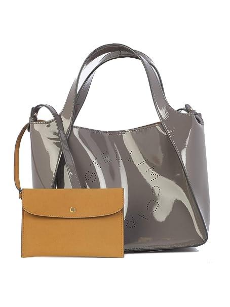 976b342e28 Stella McCartney Mujer 513860W84051401 Gris Poliéster Bolso Tipo Shopper   Amazon.es  Ropa y accesorios