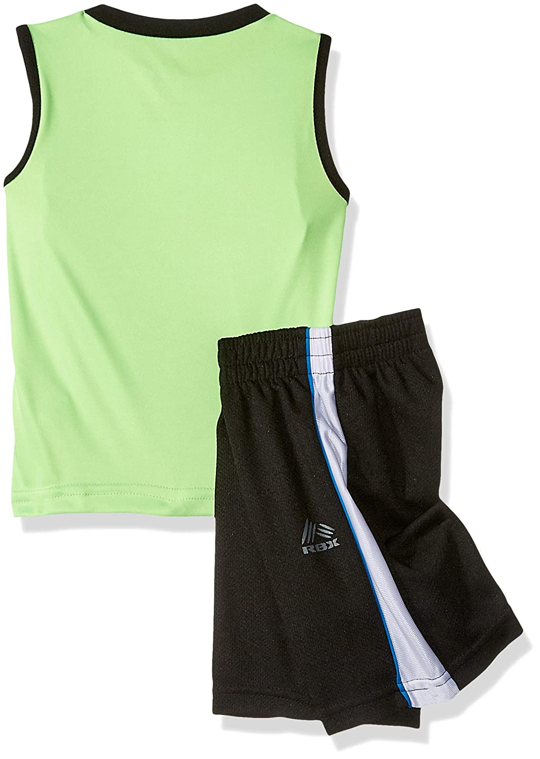 RBX Boys Toddler 3 Piece Performance Top Tank and Short Set