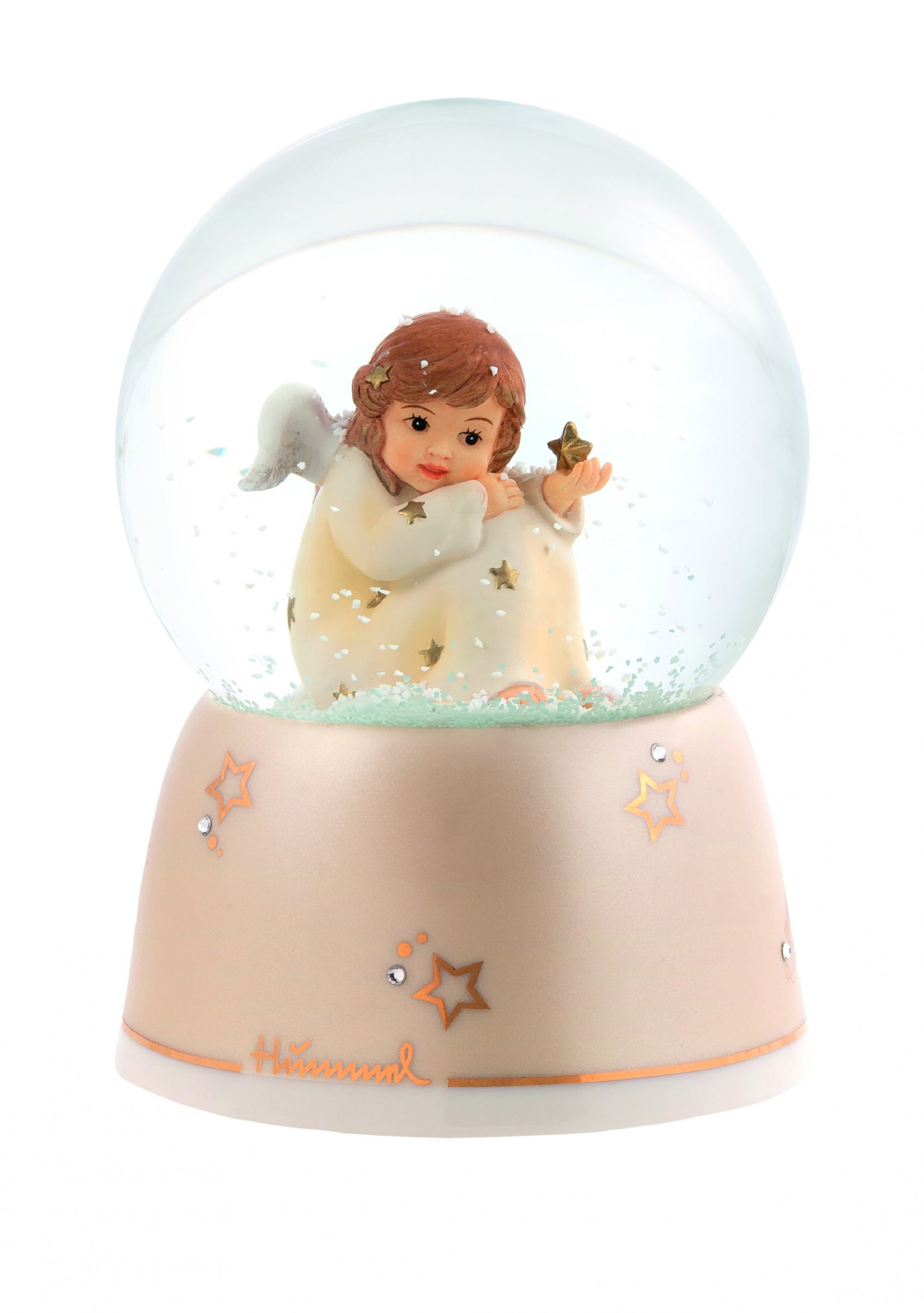Hummel Angel Musical Water Globe