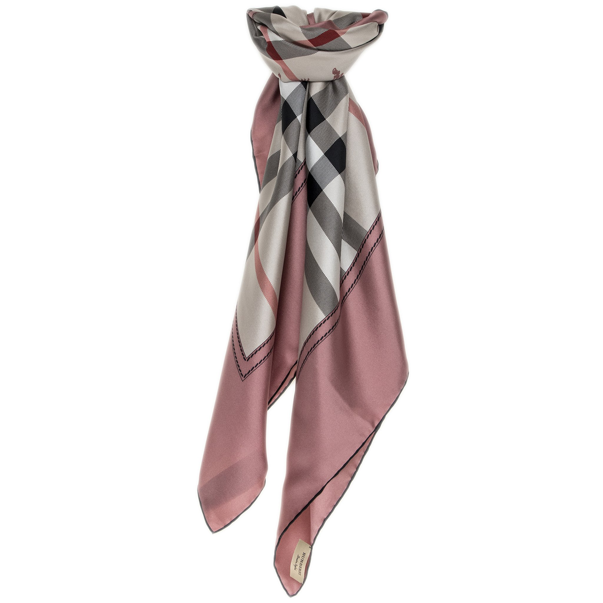 Burberry Women's House Check Scarf Pink
