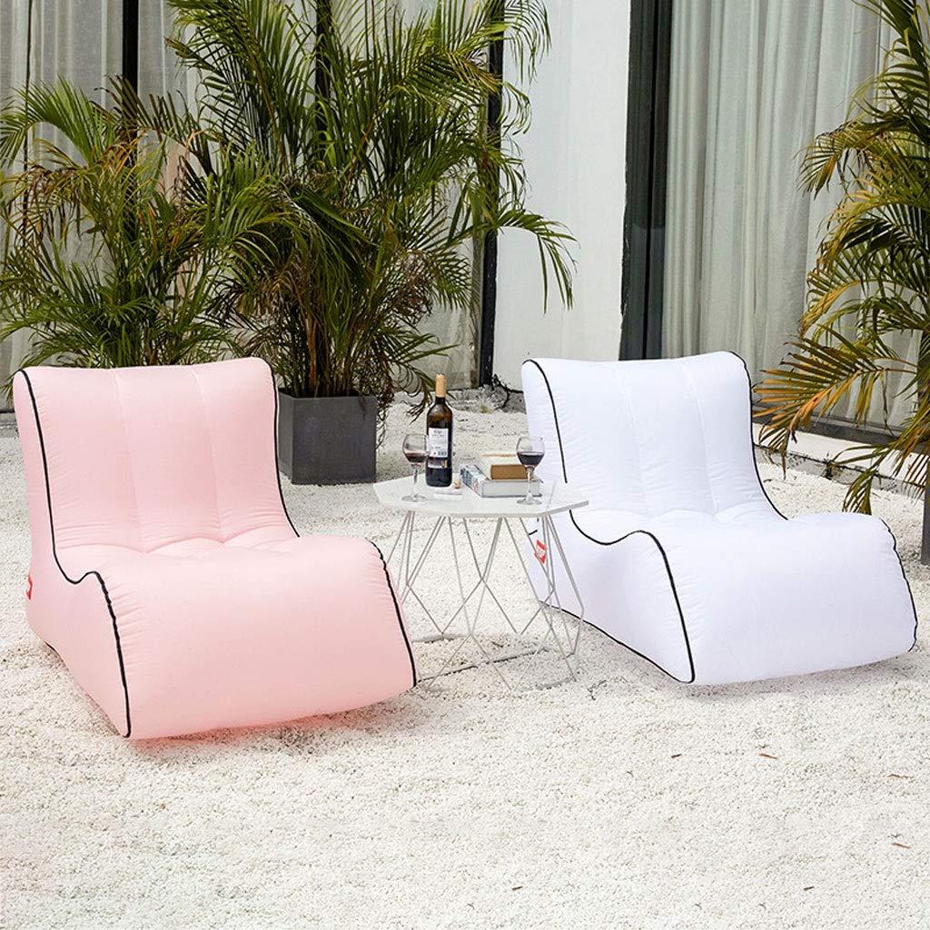 Amazon.com: LJM - Sofá hinchable para tumbona o tumbona de ...