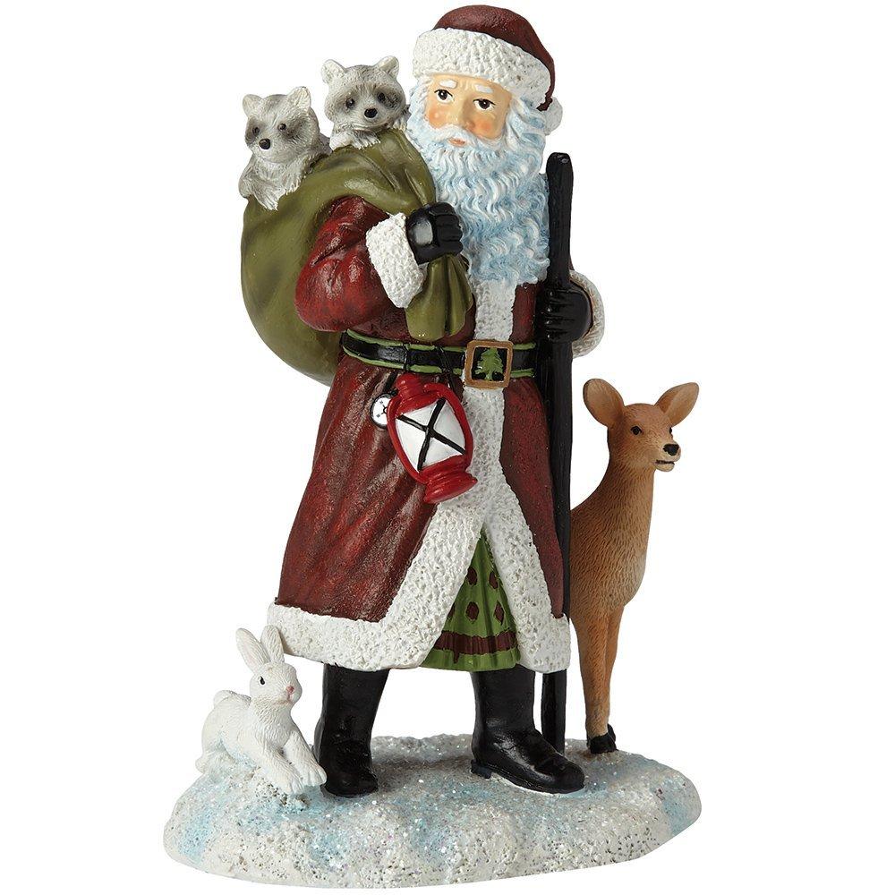 "Pipka Christmas Gifts, ""Northwoods Santa"", Santas Of America Collection, Resin Figurine, #7161210"