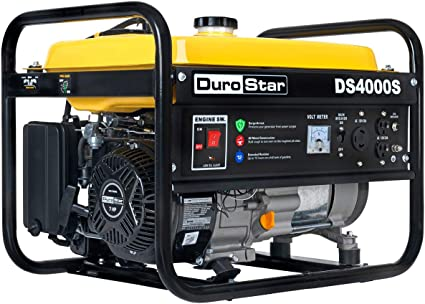 Amazon.com : Durostar DS4000S Portable Generator, Yellow/Black : Garden &  Outdoor