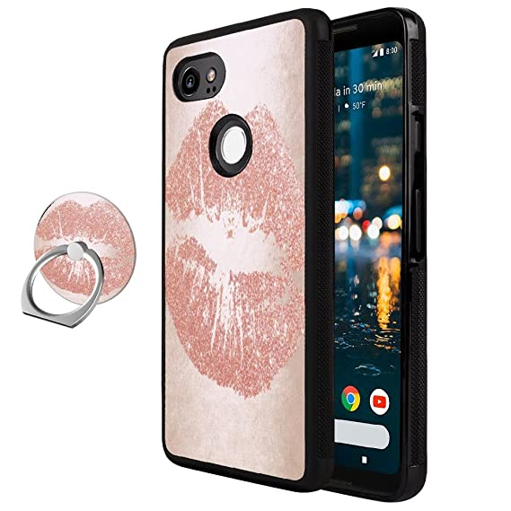 Amazon.com: Google Pixel 2 XL Case With Ring Stand, Google ...