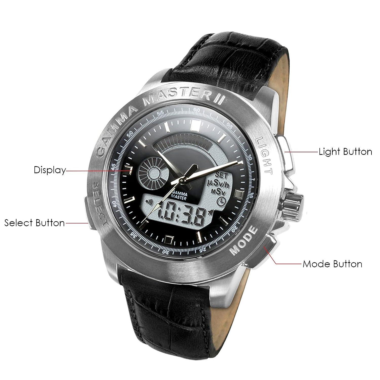 Gamma Master II de radiación reloj: Amazon.es: Bricolaje y ...