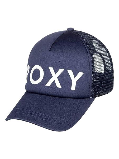 Roxy - Gorra Trucker - Mujer - One Size - Azul: Amazon.es: Ropa y accesorios