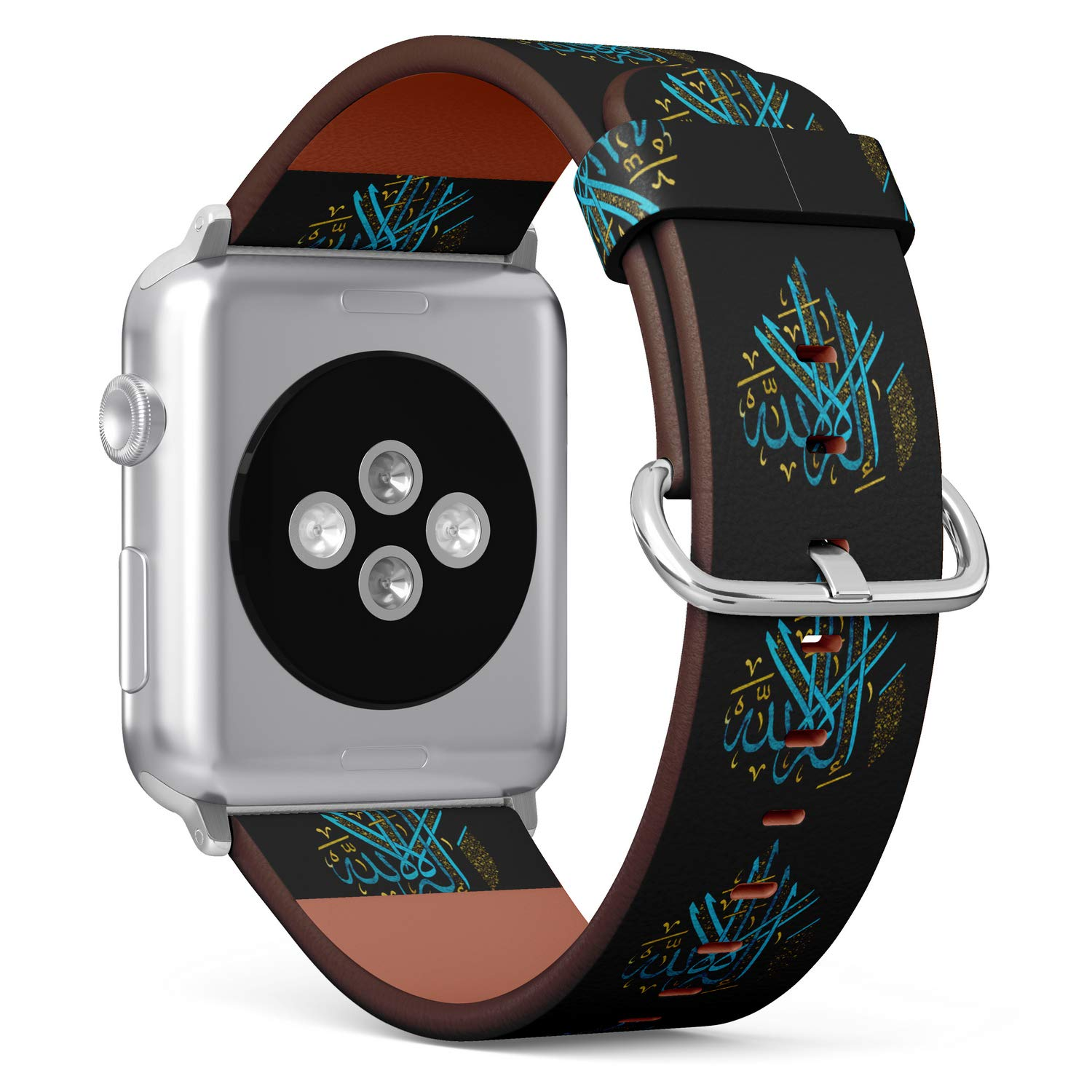 Amazon.com: S-Type iWatch Leather Strap Printing Replacement ...
