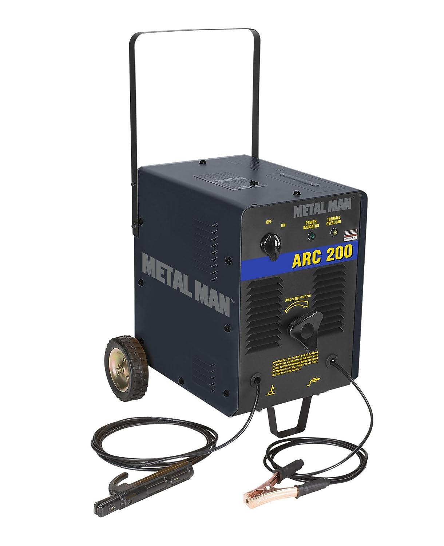 Metal Man Arc200 Ac Stick Welder Power Welders Mig Wiring Diagram Further New 200 Arc Electric Welding