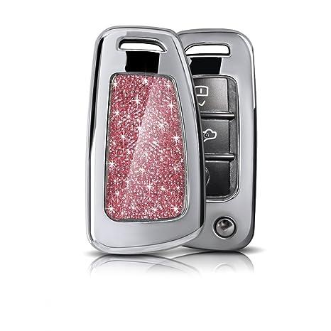 Coche Caso clave remoto Control cromo coche Smart Key Chain ...