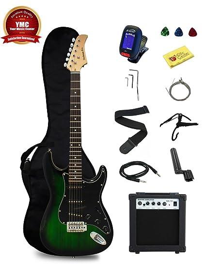 Stedman Pro EG39 TGRB 10W Beginner Series Electric Guitar With Case Strap