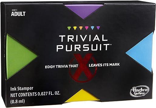 Hasbro Trivial Pursuit X Juego (Contenido explícito – Los Adultos sólo.): Amazon.es: Juguetes y juegos