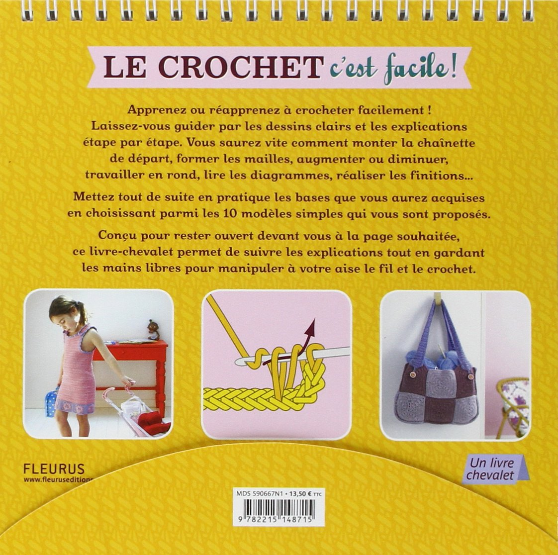 Le Crochet C Est Facile Une Methode Simple Pour