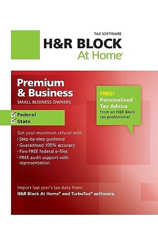 Amazon Hr Block At Home Premium Business 2012 Win Download