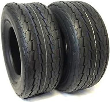 New 4.80-8 Deestone 6 ply Trailer Tire on 4 Hole White Wheel Load Range C