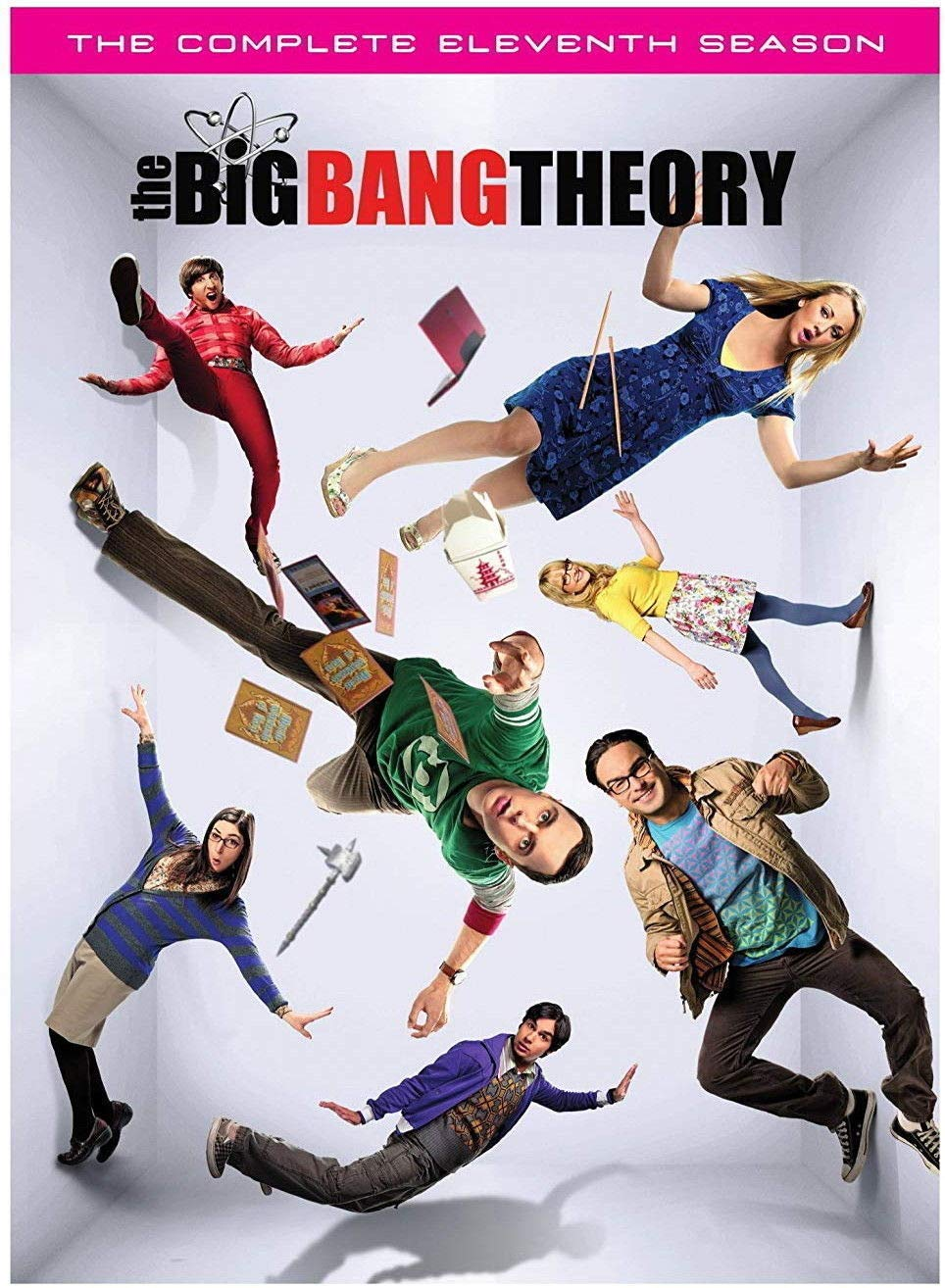 The Big Bang Theory: The Complete Eleventh Season 11(DVD, 2-Disc Set) New Not attached