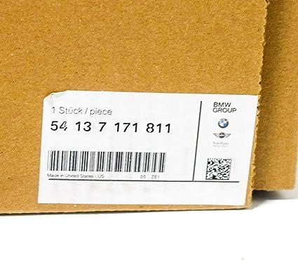 GTV INVESTMENT X5 E70 D/éflecteur dair panoramique pour Toit ouvrant Slipstream 54137171811