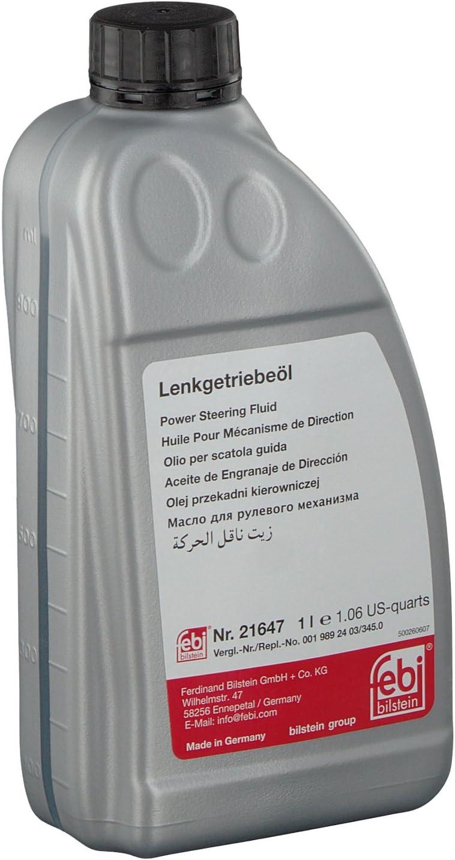 Febi Bilstein 21647 Hydrauliköl Für Servolenkung Grün 1 Liter Auto