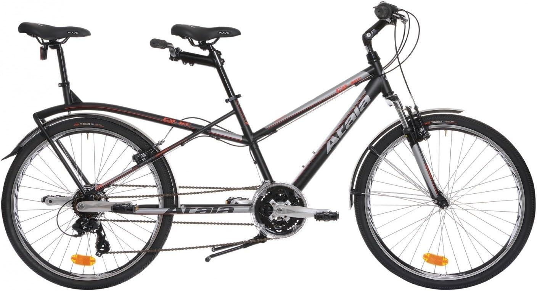 Atala - Bicicleta Tandem Atala Due Smart - Color negra - Rodado 26 ...