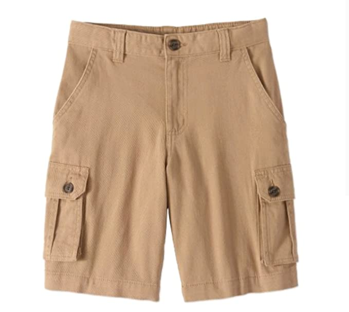 7216927b Amazon.com: Wonder Nation Boys Urban Khaki Cargo Short (12): Clothing