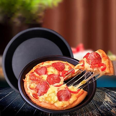 squarex _ feliz Navidad exquisita Ronda pizza Pan bandeja de acero ...