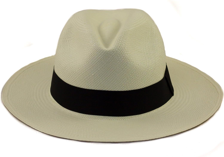 Tumia Sombrero de Panama Tradicional, Plegable y Hecho a