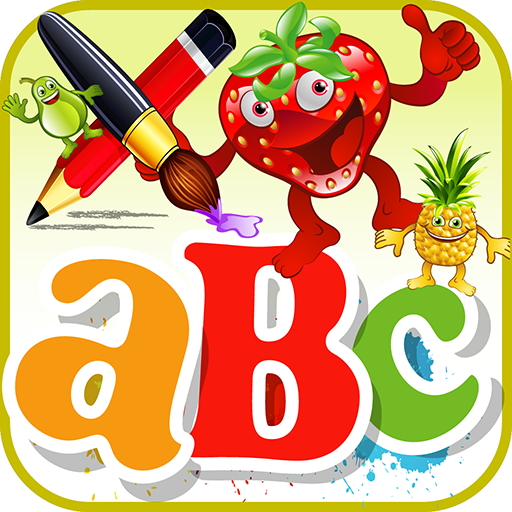 ABC Fruits Coloring -