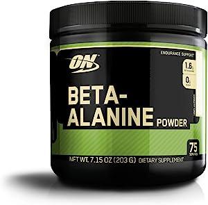 Optimum Nutrition Beta-Alanine, Unflavored, 7.15 Ounce