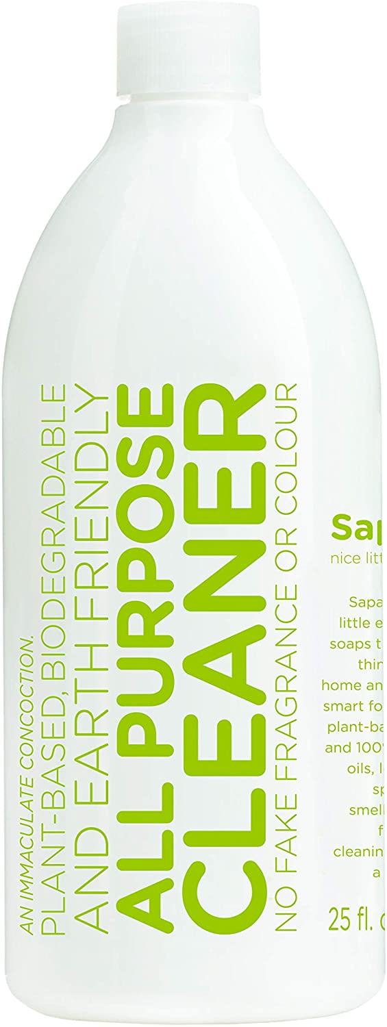 Sapadilla Rosemary + Peppermint Biodegradeable All-Purpose Cleaner Concentrate, 25 Ounce