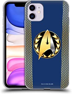 Head Case Designs Officially Licensed by Star Trek Discovery Admiral Badge Uniforms Soft Gel Case Compatible with Apple iPhone 11