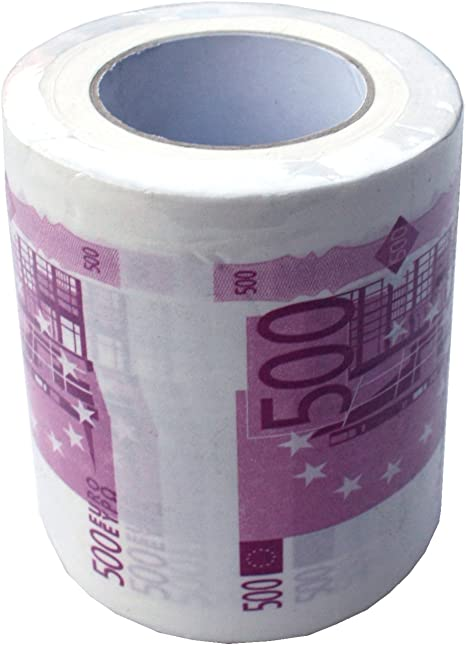 Carta igienica 500 euro