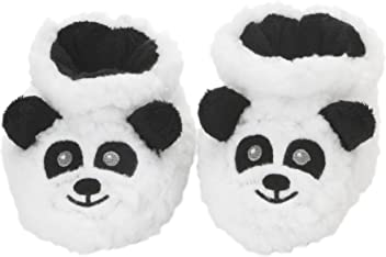 4b4d631c51d Snoozies Baby Plush Sherpa Animal Booties